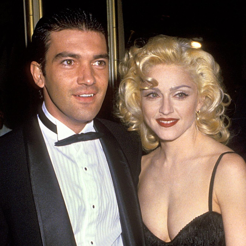 1991, en compagnie de Madonna