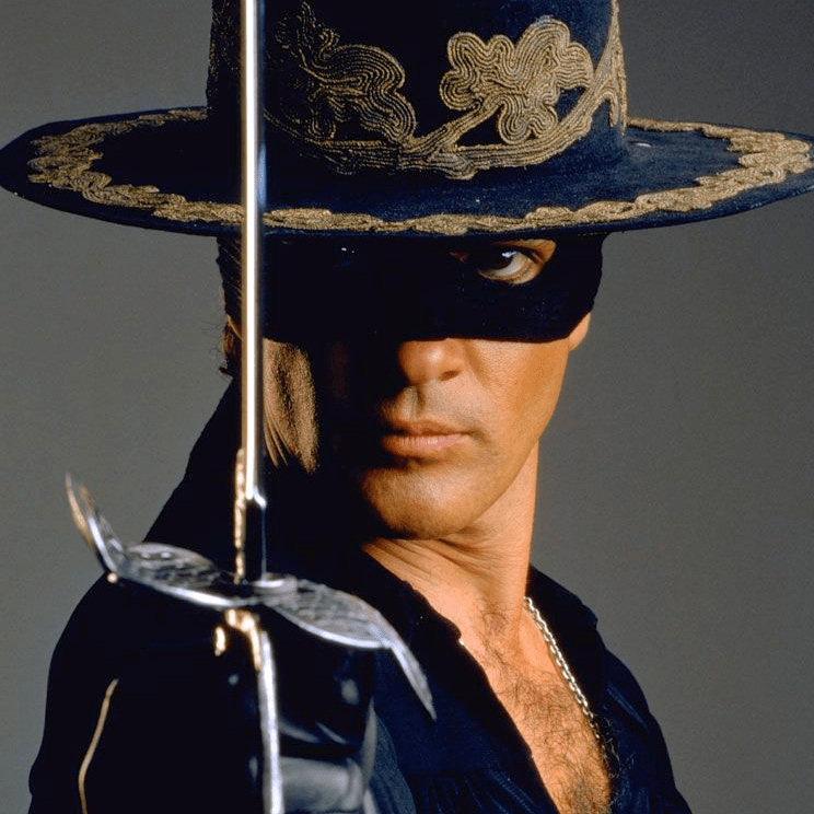 1995, « Le masque de Zorro »