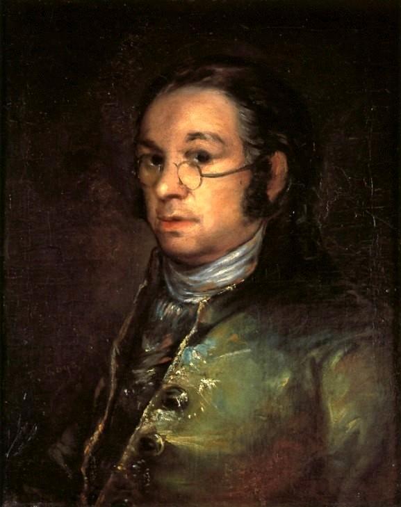Autorretrato, Francisco de Goya, 1800