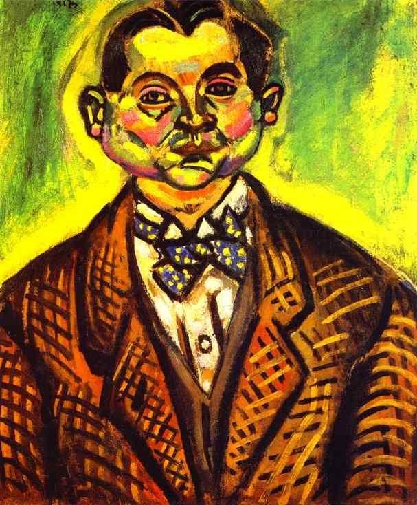 Autorretrato, Joan Miró, 1917