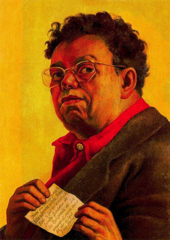 Autorretrato dedicado a Irene Rich, 1941