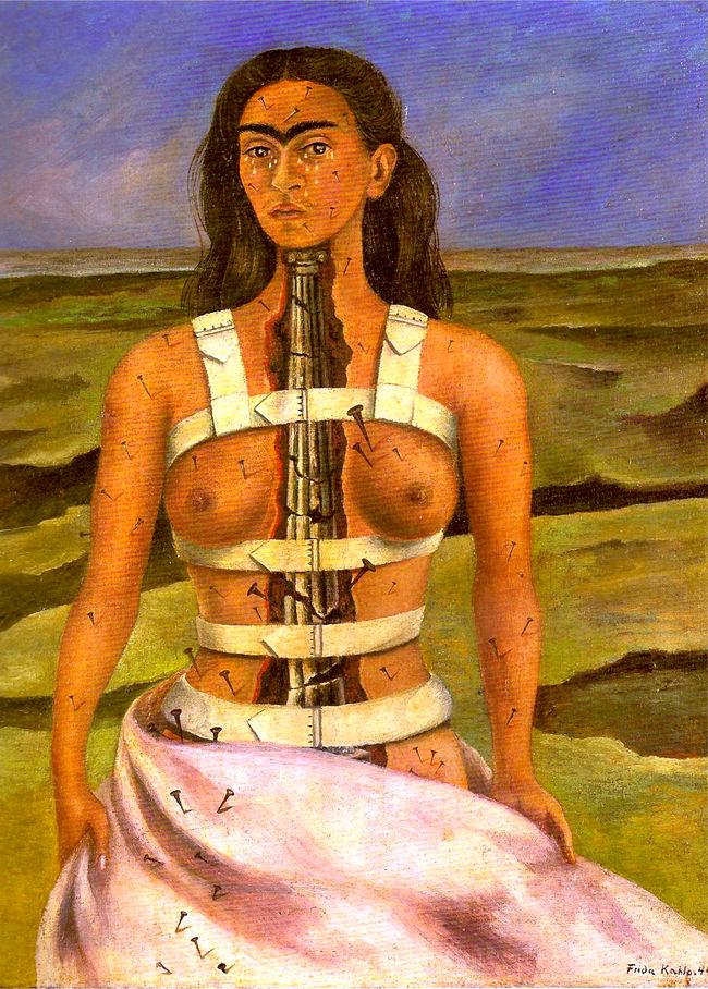 La columna rota, Frida Kahlo, 1944